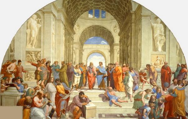 La_scuola_di_Atene. Ipazia