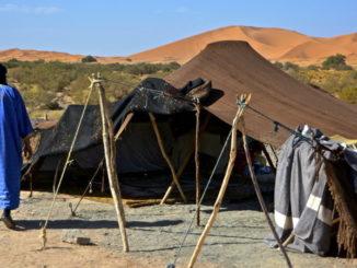 Berber camp in Merzouga Sahara Marocco (Antonio Cinotti)