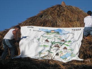 Camarà, Roraima, Brasile, strisione a difesa della terra (Bruno Francesco)
