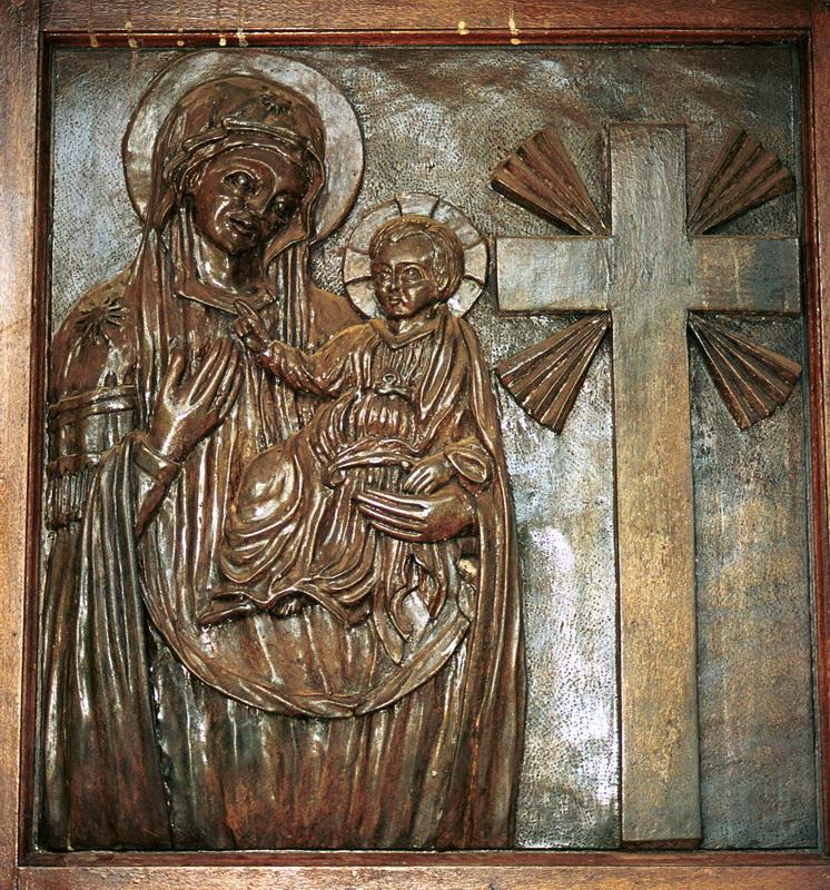 Porta chiesa Tuthu la Consolata