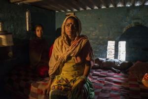 Leela, una manual scavenger, vive a Nand Nagri, periferia nord di New Delhi
